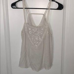 White tank top/ blouse Size M